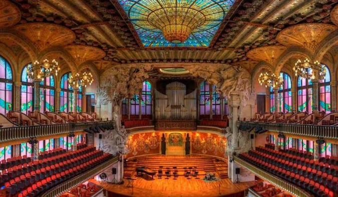 Palau de la Música de Barcelona, un tesoro modernista
