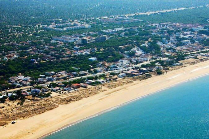 Playa de Mazagón, en Palos de la Frontera, Huelva