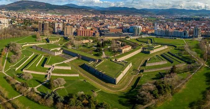 La ciudad de Pamplona, en Navarra