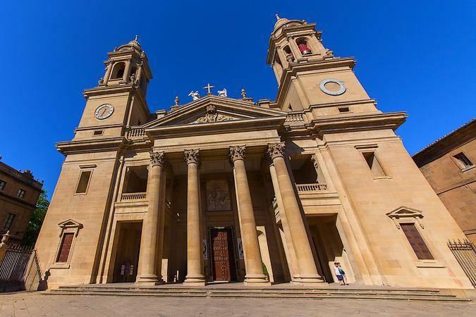 Catedral de Santa María, en Pamplona