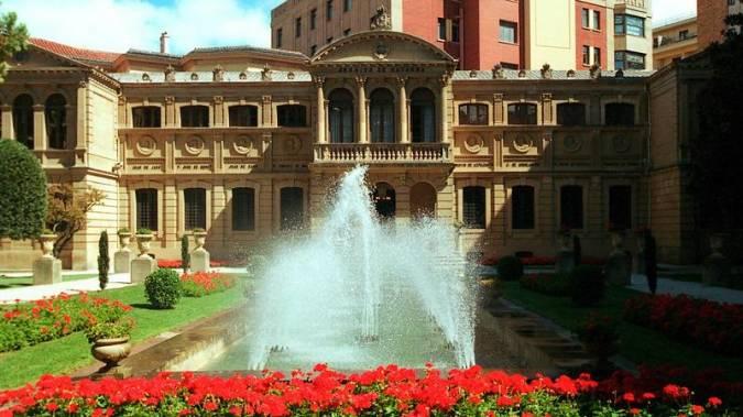 Palacio de Navarra, en Pamplona