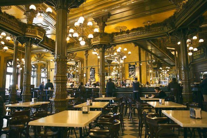 Cafe Iruña, en Pamplona
