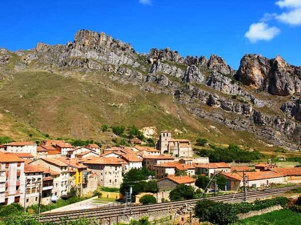 La localidad de Pancorbo, en Burgos