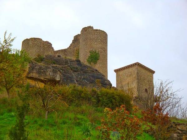 Castillo de Santa Marta, en Pancorbo, Burgos
