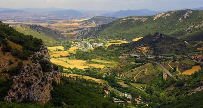 Desfiladero de Pancorbo y Montes Obarenes, en Burgos