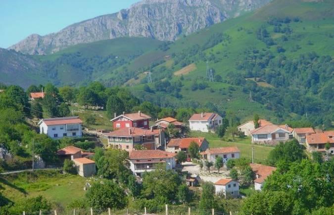 Pandiello, en tierras asturianas de Cabrales