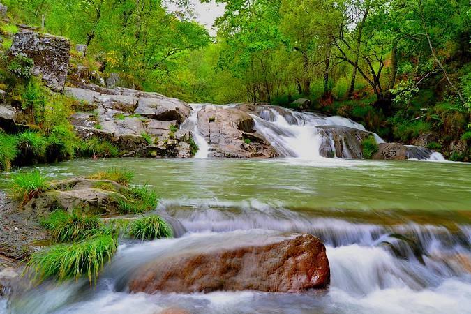 Paraje Natural de las Pozas de Melón, en Ourense