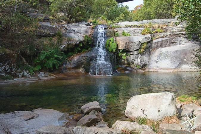 El Paraje Natural de las Pozas de Melón, en Ourense