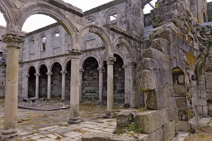 Monasterio de Santa María de Melón, en Ourense