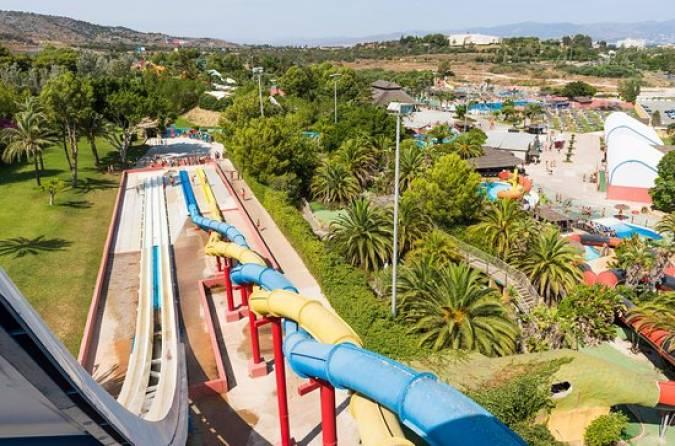 Parque Acuático Aqualand de Torremolinos