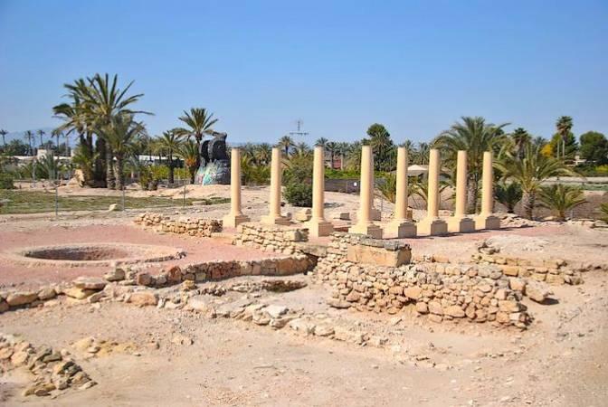 Parque Arqueológico de L'Alcudia, en Elche