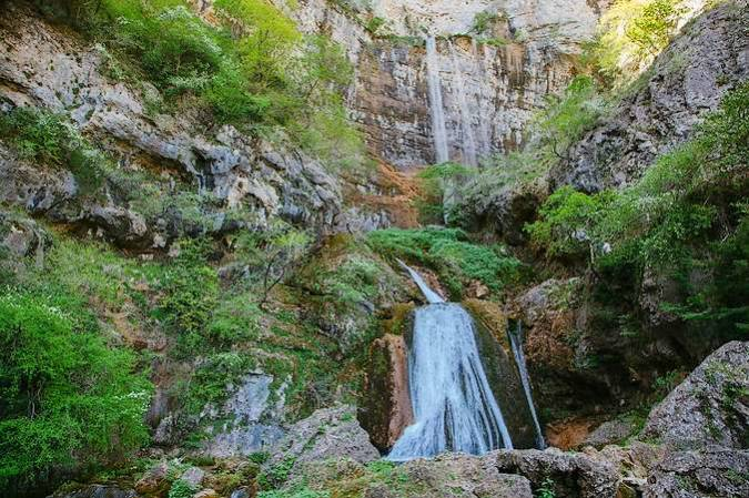 Nacimiento del Río Mundo, en Albacete