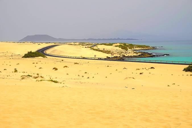 Las Dunas de Corralejo, en Fuerteventura