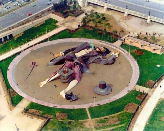El Parque Gulliver, en Valencia