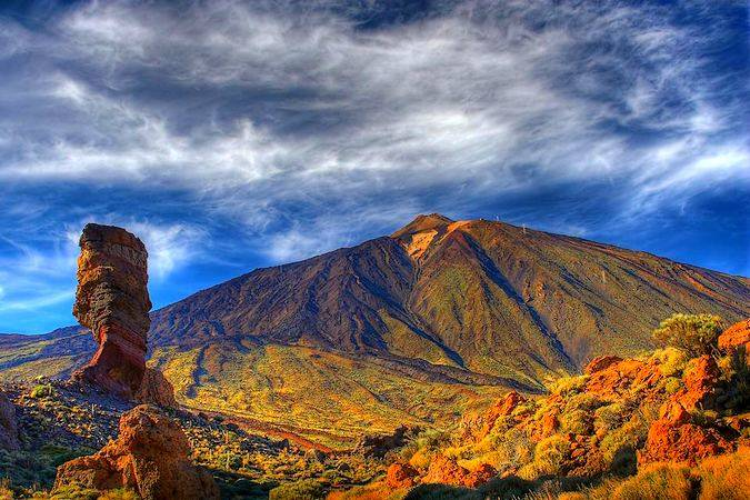 Parque Nacional del Teide, en Tenerife