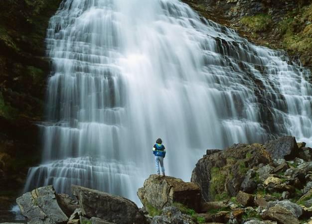 El Parque Nacional de Ordesa y Monte Perdido, en Huesca