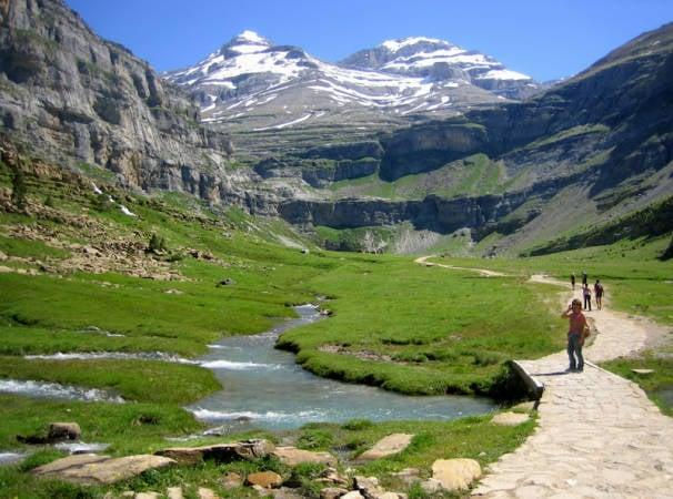 Parque Nacional de Ordesa y Monte Perdido, en Huesca