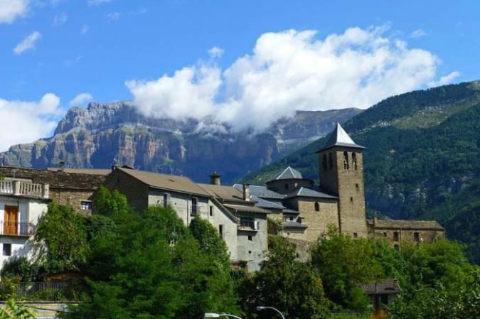 El pueblo de Torla, en Huesca