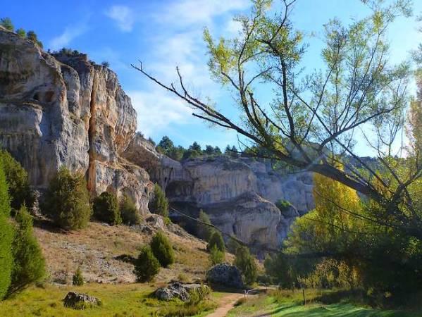 Parque Natural del Cañón del Río Lobos, en Soria