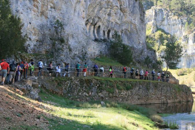 Senderismo por el Cañón del Río Lobos, en Soria