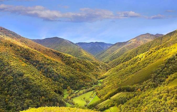Parque Natural de las Fuentes del Narcea, Degaña e Ibias, en Asturias
