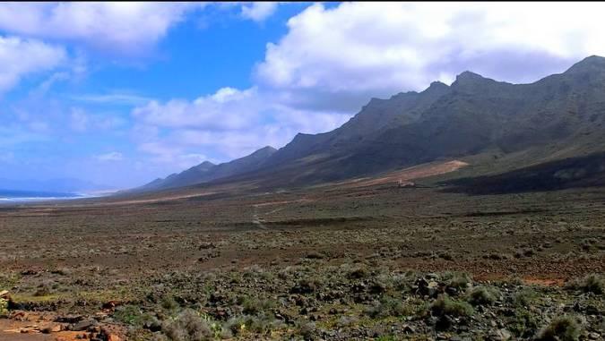 El Parque Natural de Jandía, en Fuerteventura