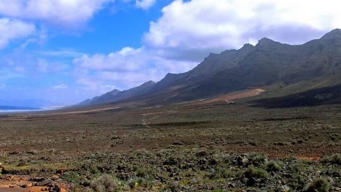 Parque Natural de Jandía, en Fuerteventura