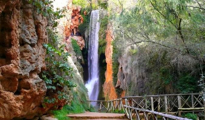 Parque Natural del Monasterio de Piedra, en Zaragoza