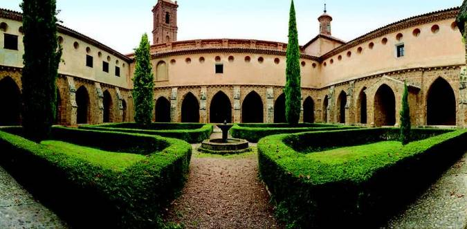 Hotel del Monasterio de Piedra, en Nuévalos, Zaragoza