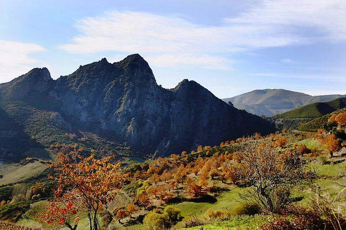Parque Natural Serra da Enciña da Lastras, en Ourense