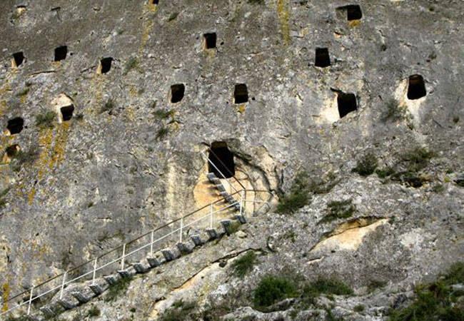 Cuevas de los Moros en Bocairent