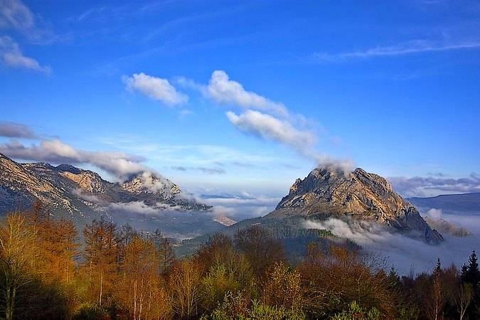 Parque Natural de Urkiola, entre Vizcaya y Álava