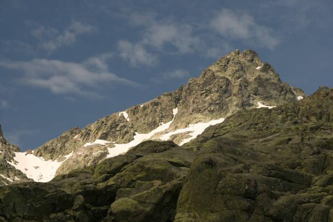 Pico Almanzor, en la Sierra de Gredos