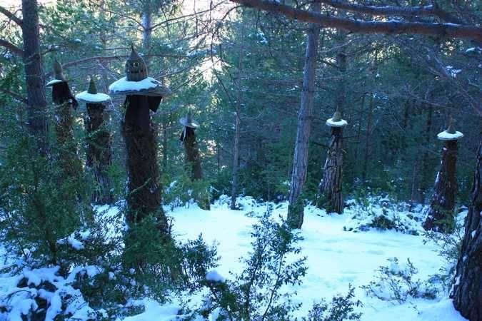 Parque Temático Brujas de Laspaúles, en Huesca