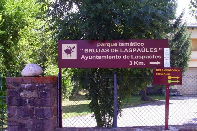 Parque de las Brujas de Laspaúles, en Huesca