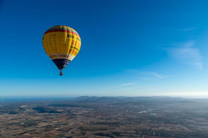 Paseo en globo sobre Mallorca