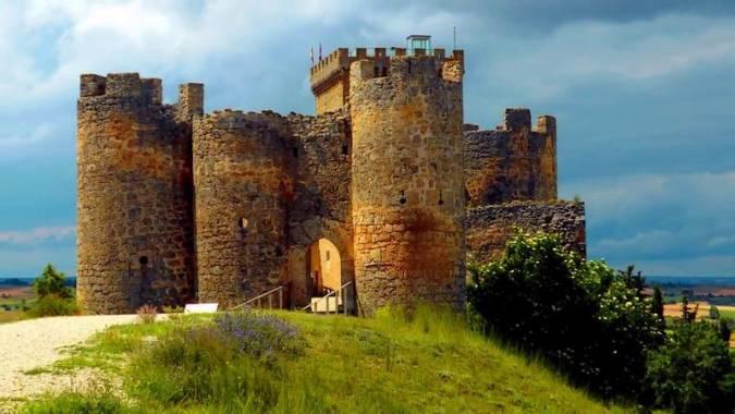 El Castillo de Peñaranda de Duero, en Burgos
