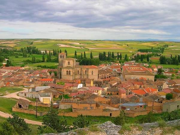 Panorámica de Peñaranda de Duero, en Burgos