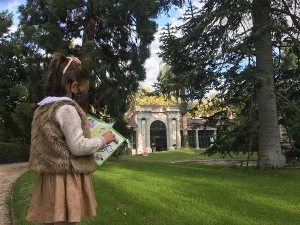 actividad jardin botanico
