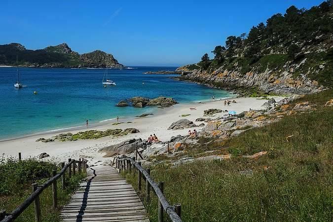 Islas Cíes, en Vigo, Pontevedra