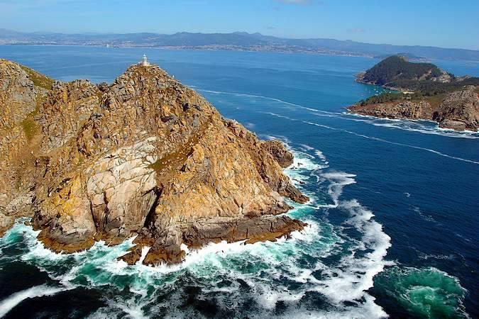 Faro da Porta, en las Isla Cíes, Pontevedra