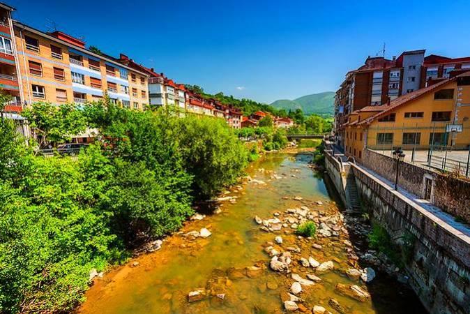 Infiesto, capital del Concejo de Piloña, en Asturias