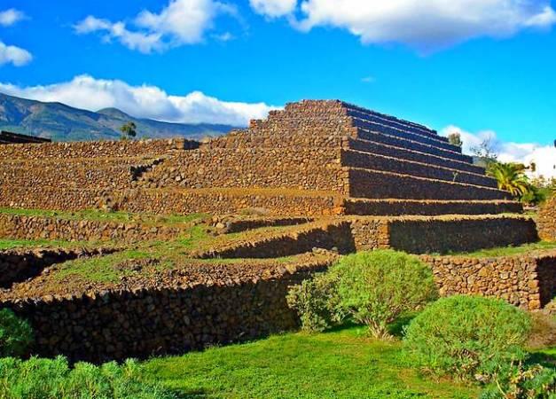 Parque Etnográfico Pirámides de Güímar, en Tenerife