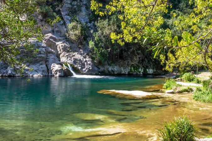 Piscinas naturales en la provincia de Valencia