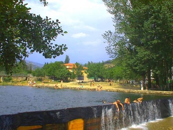 Cuatro piscinas naturales en el Valle del Jerte