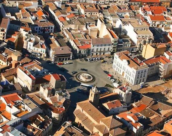 La localidad de Tomelloso, en Ciudad Real