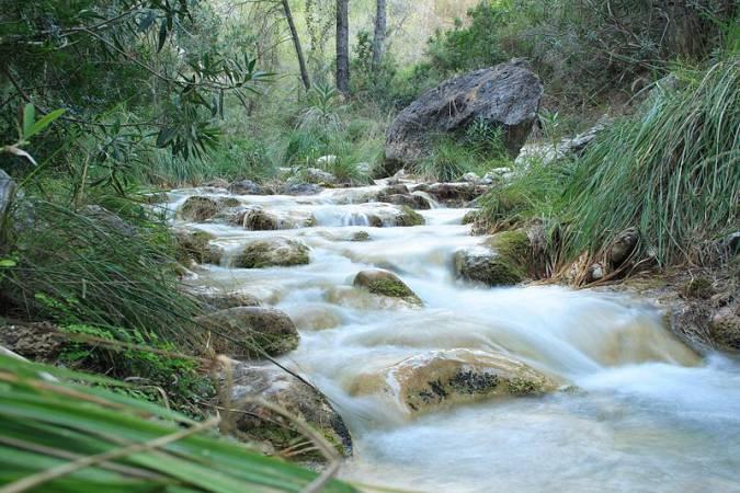 senderismo rio