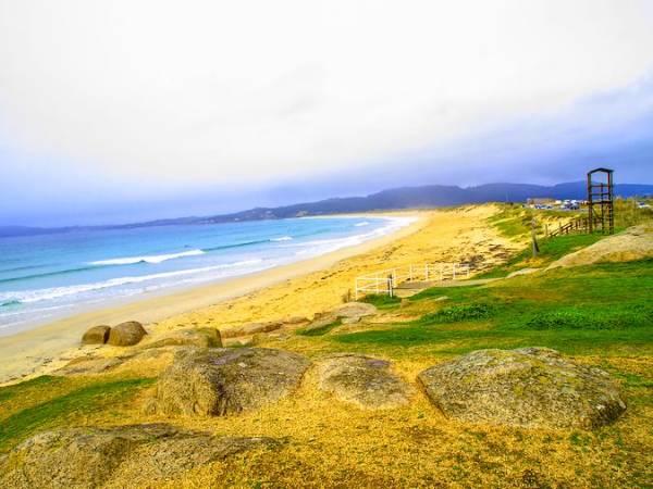 La Playa de A Lanzada, en Pontevedra
