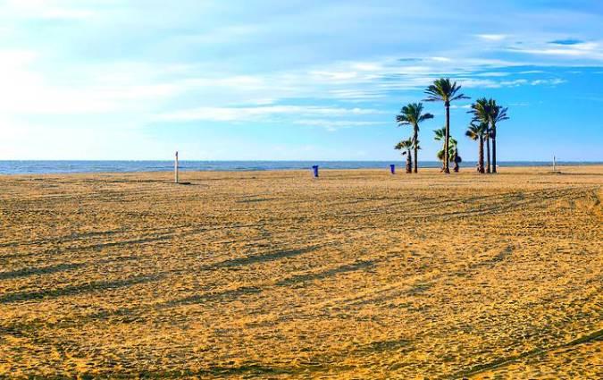 La Playa de Aguadulce, en Roquetas de Mar