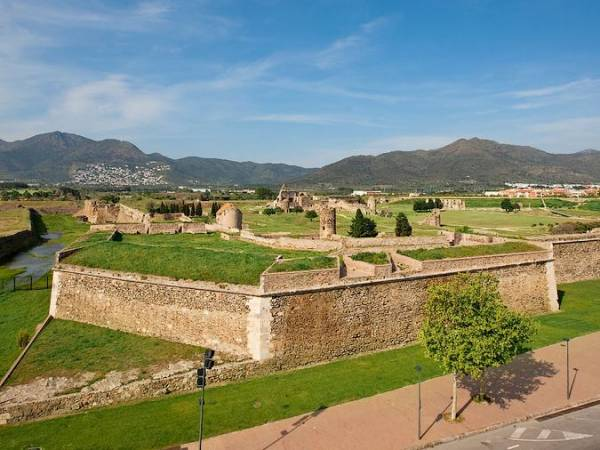 La Ciudadela de Roses, en Girona